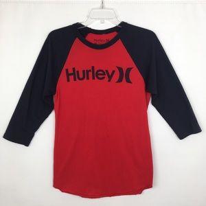 Hurley Baseball Style T-Shirt